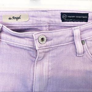 AG Jeans Adriano Goldschmied Angel Bootcut Purple
